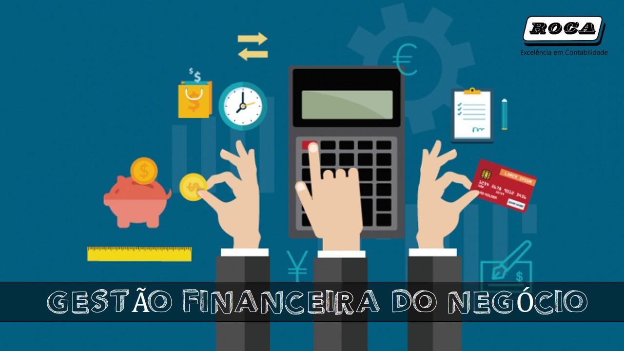Gestão Financeira Do Negócio Roca Contabil