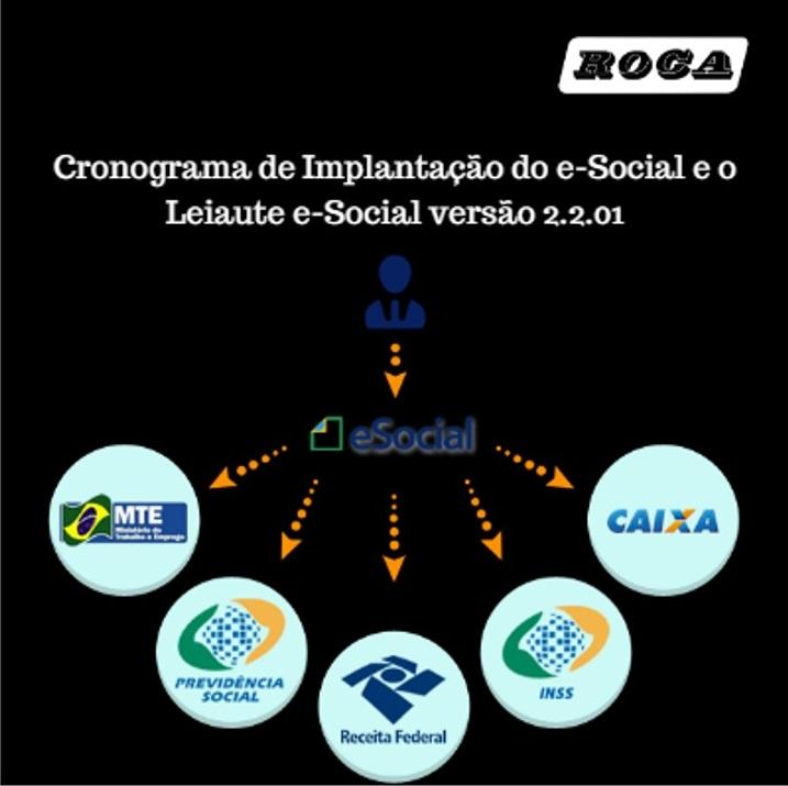 E Social Novo Cronograma