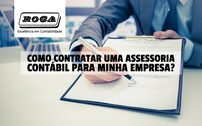 Contratar Assessoria Contábil
