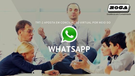 TRT-2 Aposta Em Conciliação Virtual Por Meio Do WhatsApp