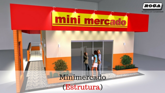 Roca – Minimercado Estrutura