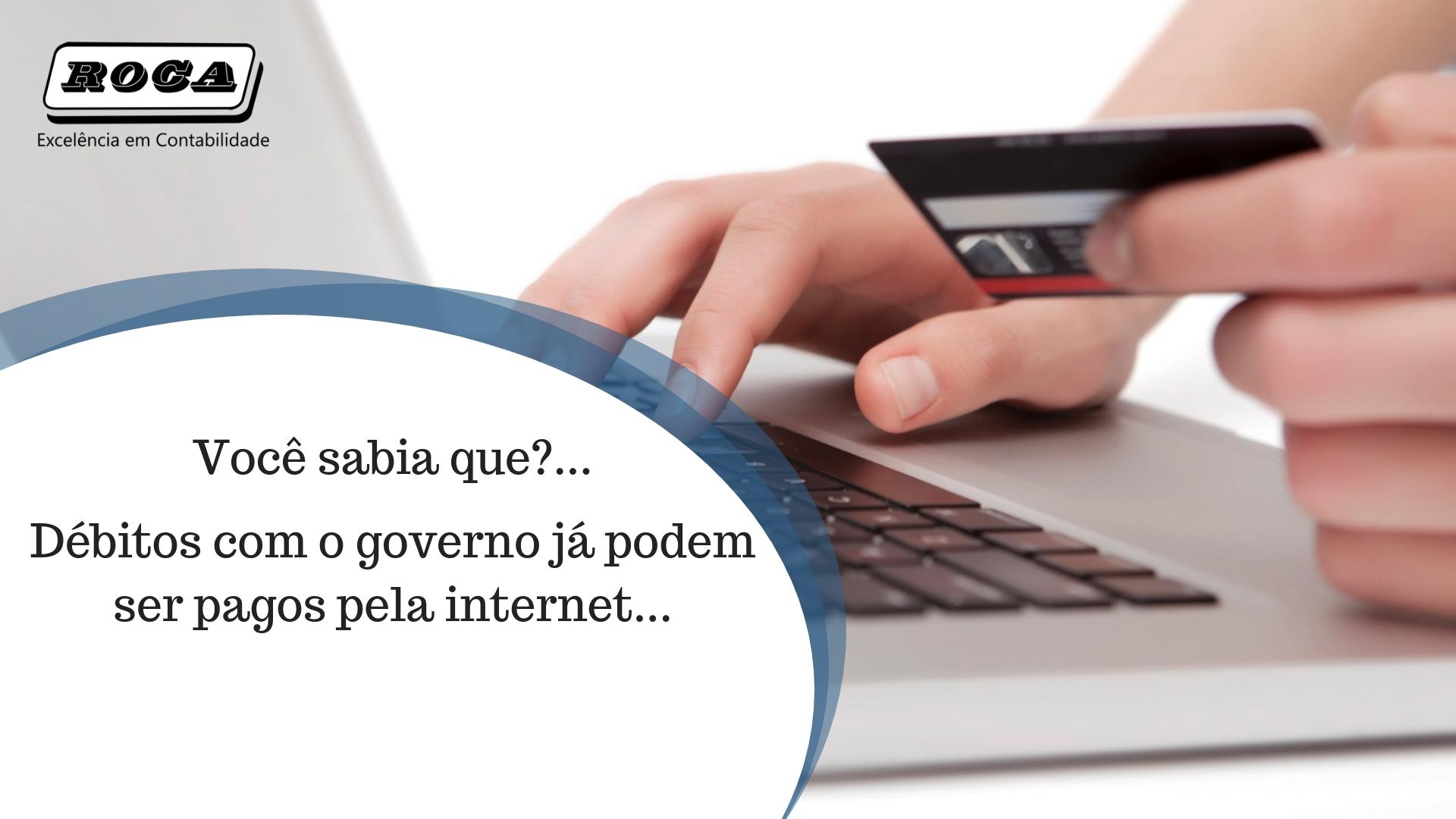 Pagar Pela Internet - Roca Contábil