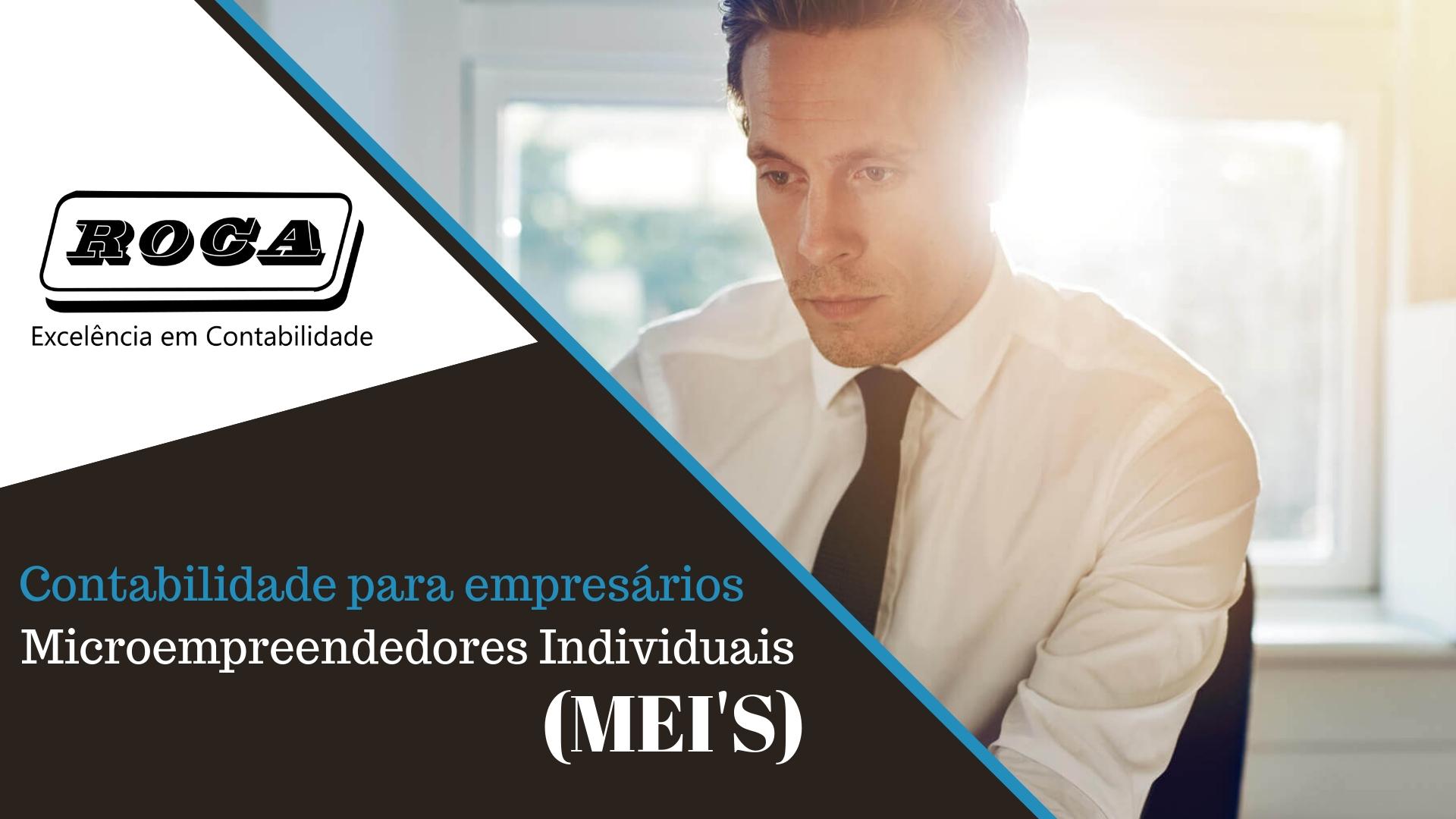 Contabilidade Para Empresários Microempreendedores Individuais (MEI'S)