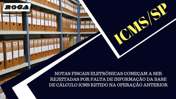 ICMS/SP – NOTAS FISCAIS ELETRÔNICAS