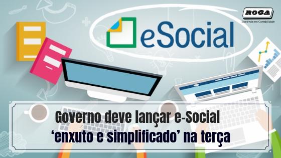 Governo Deve Lançar E-Social 'enxuto E Simplificado' Na Terça