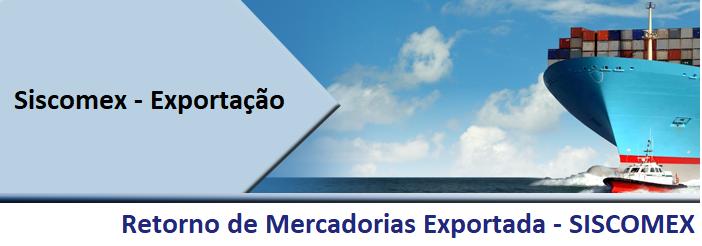 Retorno De Mercadoria Exportada - Roca Contábil