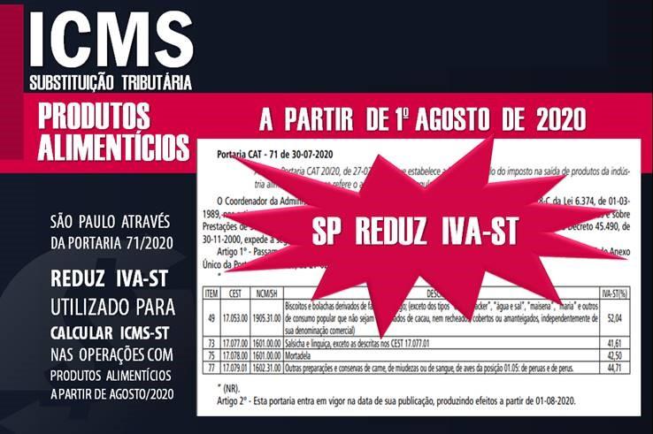 Icms Produtos Alimentícios 1 - Contabilidade no Morumbi - SP | Roca Contábil