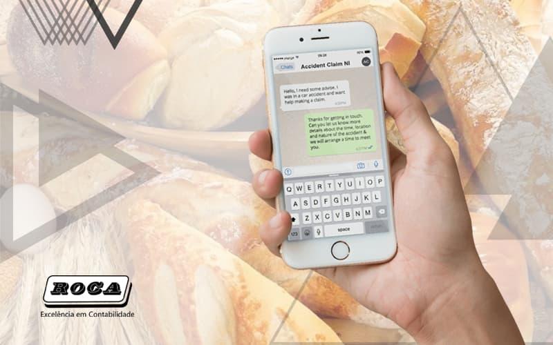 Como Gerenciar O Atendimento Da Sua Padaria Via Whatsapp Para Entregas Post (1) - Contabilidade No Morumbi - SP | Roca Contábil