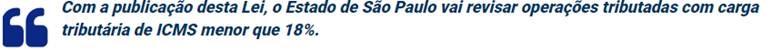 Icms Governo De SÃo Paulo Publica Lei De Pacote De Ajuste Fiscal 2 - Contabilidade no Morumbi - SP | Roca Contábil