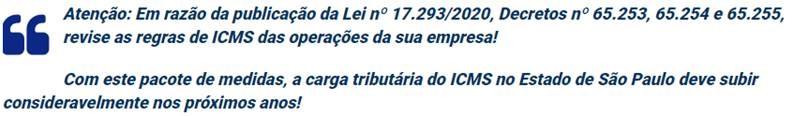 Icms Governo De SÃo Paulo Publica Lei De Pacote De Ajuste Fiscal 3 - Contabilidade no Morumbi - SP | Roca Contábil