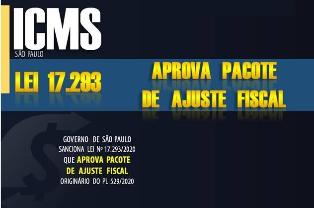 Icms Governo De SÃo Paulo Publica Lei De Pacote De Ajuste Fiscal - Contabilidade no Morumbi - SP | Roca Contábil