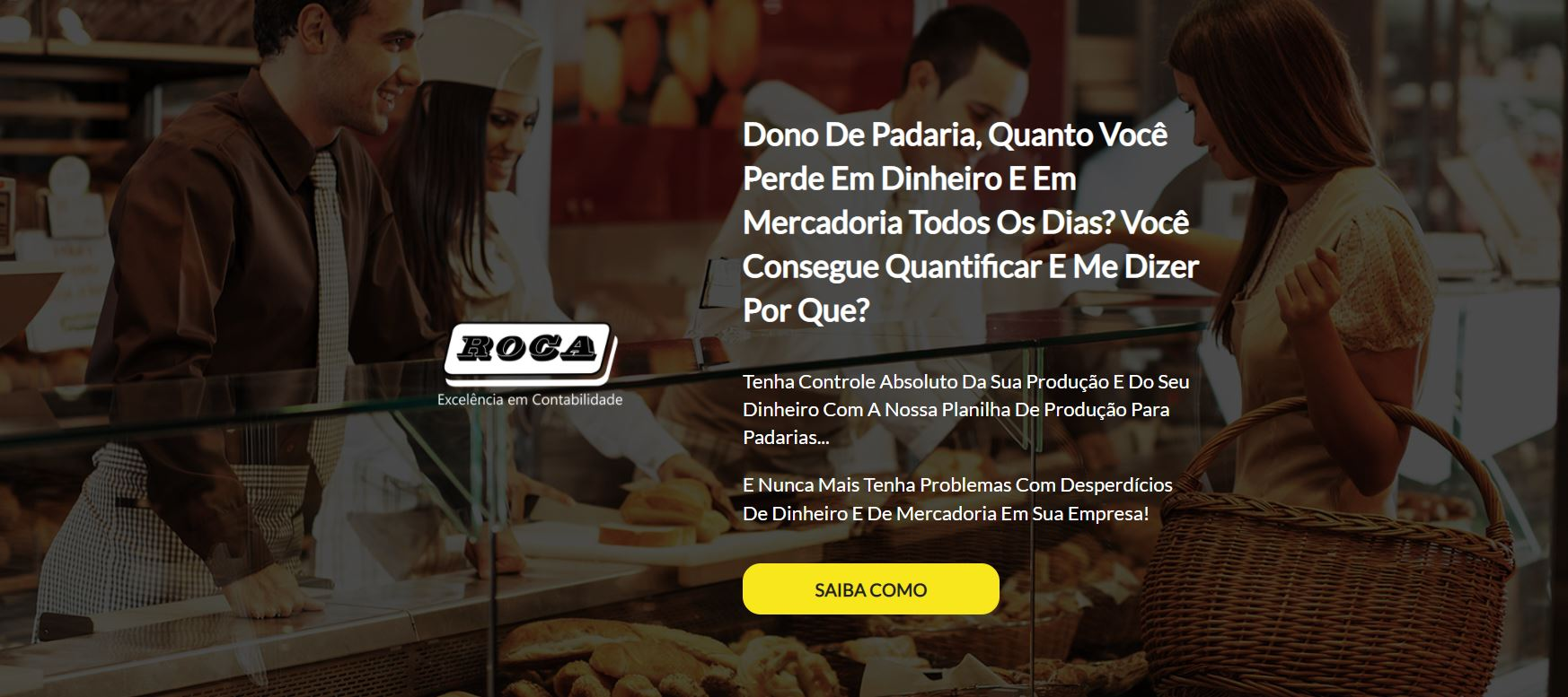 Dono De Padaria - Contabilidade no Morumbi - SP | Roca Contábil