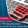Para Superar A Crise, Cerca De 70% Das Pequenas Empresas Venderam Por Canais Digitais.