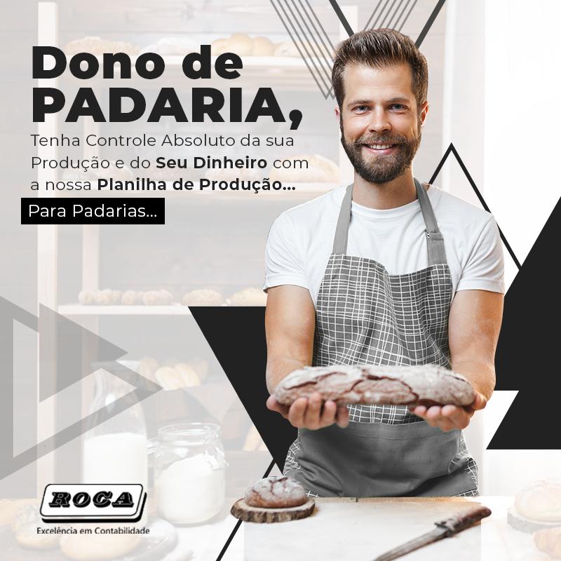 Dono De Padaria Banner - Contabilidade no Morumbi - SP | Roca Contábil