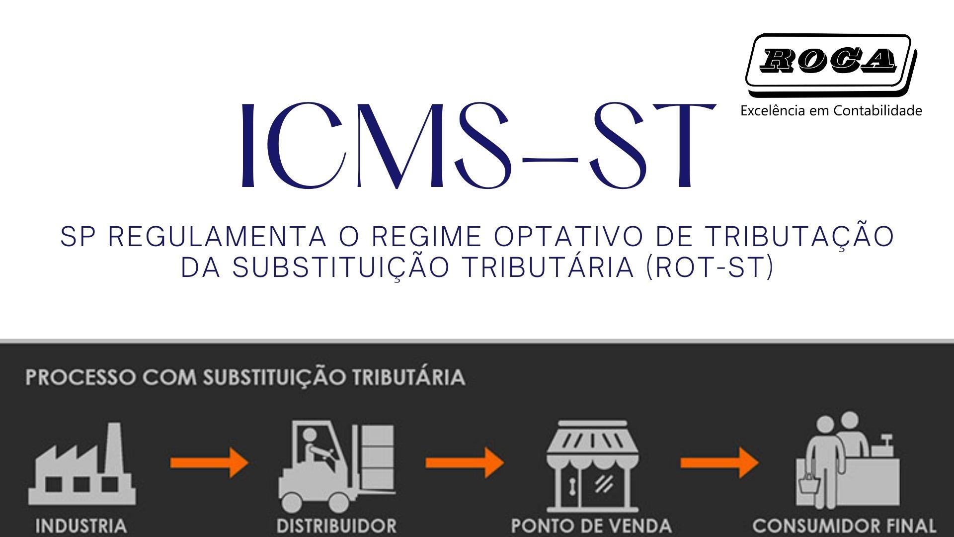 ICMS-ST: SP Regulamenta O Regime Optativo De Tributação Da Substituição Tributária (ROT-ST)