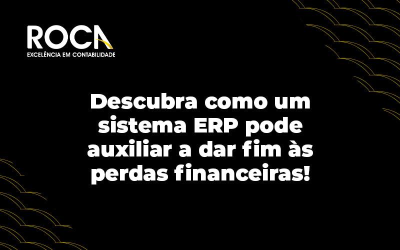 Descubra Como Um Sistema Erp Pode Auxiiar A Dar Fim As Perdas Financeiras Blog - Contabilidade No Morumbi - SP | Roca Contábil